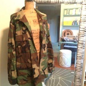 Jackets & Blazers - Official Army Fatigue Jacked sz Medium Reg